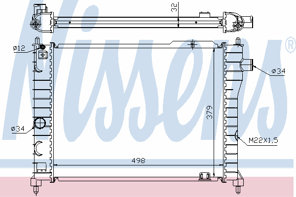 63062A NISSENS