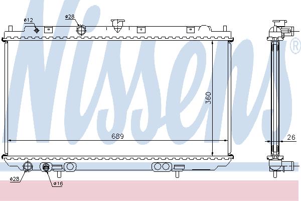 67348A NISSENS