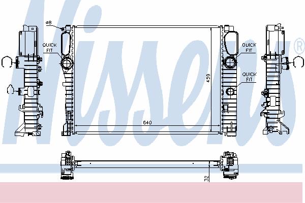 67102A NISSENS