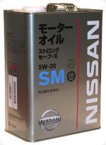 KLAM305304 NISSAN Nissan SM Strong Save X 5W30